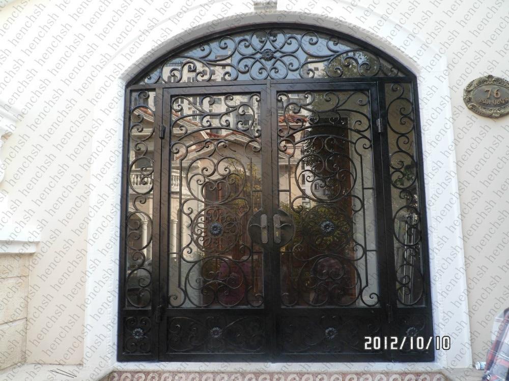 Achetez en gros forg porte d 39 entr e en fer en ligne des grossistes forg porte d 39 entr e en for Porte d entree fer forge algerie