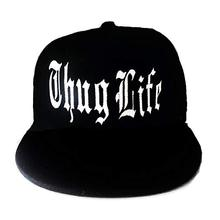 Men s Women s Thug Life Solid Colored Customized Embroidered Gangster Gang  Slug Cap f88340ed4533