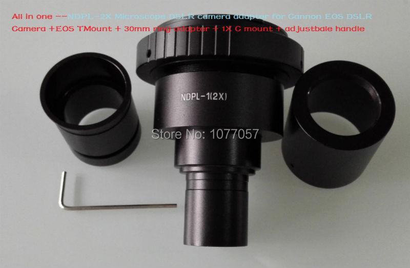 Beste verkauf ndpl 2x können nicht eos mikroskop kamera adapter slr