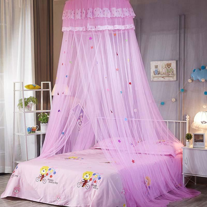 My Sky Mosquito Net Bed Canopy Color Pink