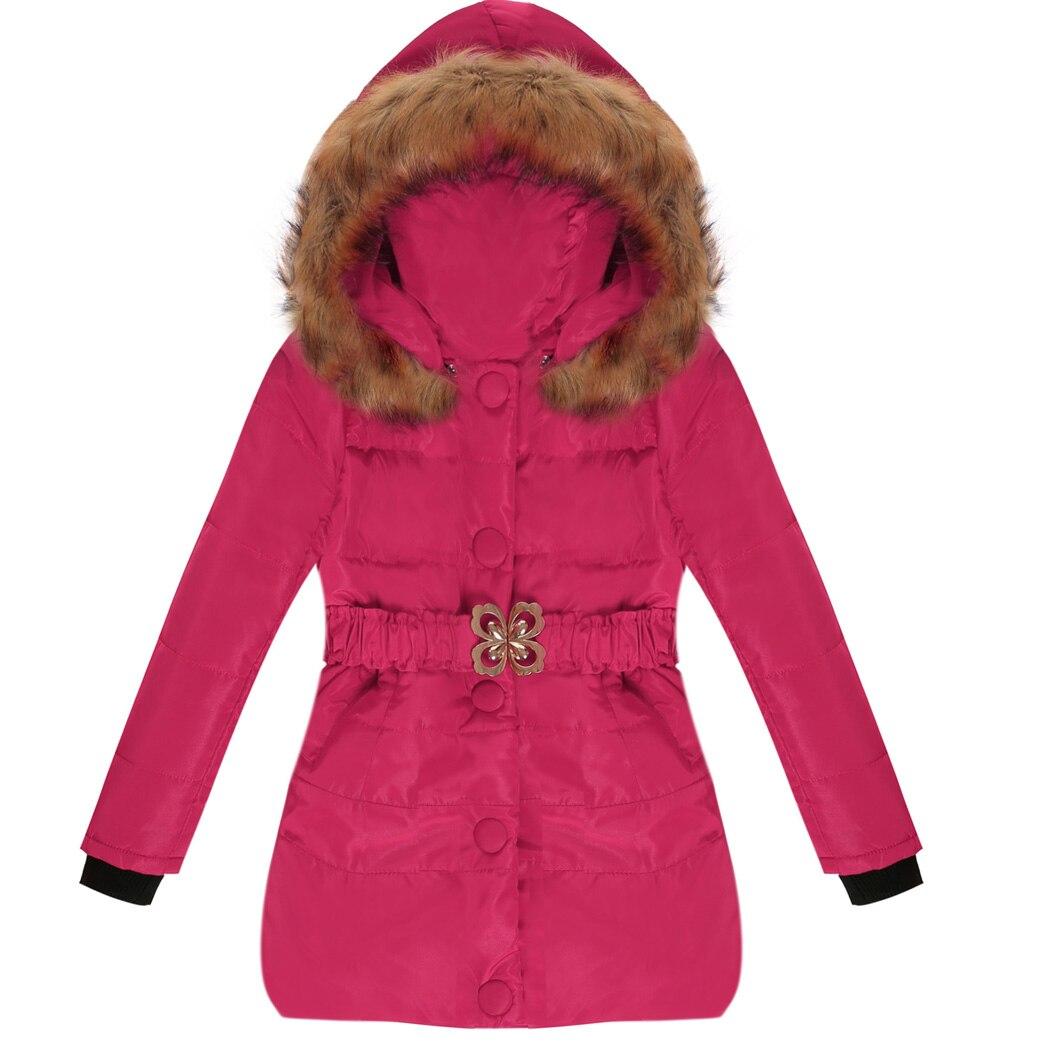 2017 New Fashion Winter Coat For Baby Girls Coats Long