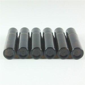 Image 3 - DHL Freies 200 teile/los 10 ml Bernstein Roll On Roller Flasche für Ätherisches Öle Nachfüllbar Parfüm Flasche Deodorant Container