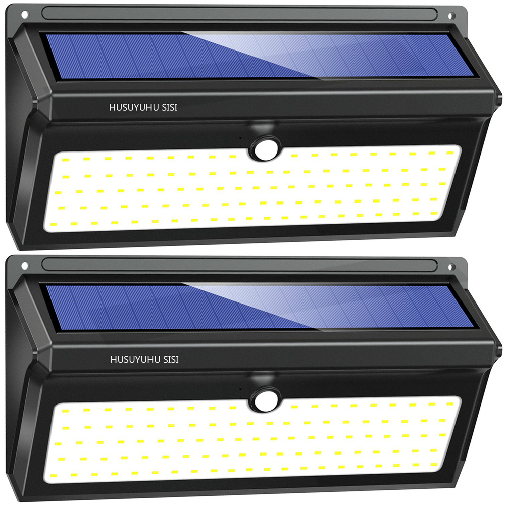 2 Pack 100 LED Solar Light Outdoors Solar Motion Sensor Lights With Wide Angle Waterproof Security Solar Wall Lights2 Pack 100 LED Solar Light Outdoors Solar Motion Sensor Lights With Wide Angle Waterproof Security Solar Wall Lights