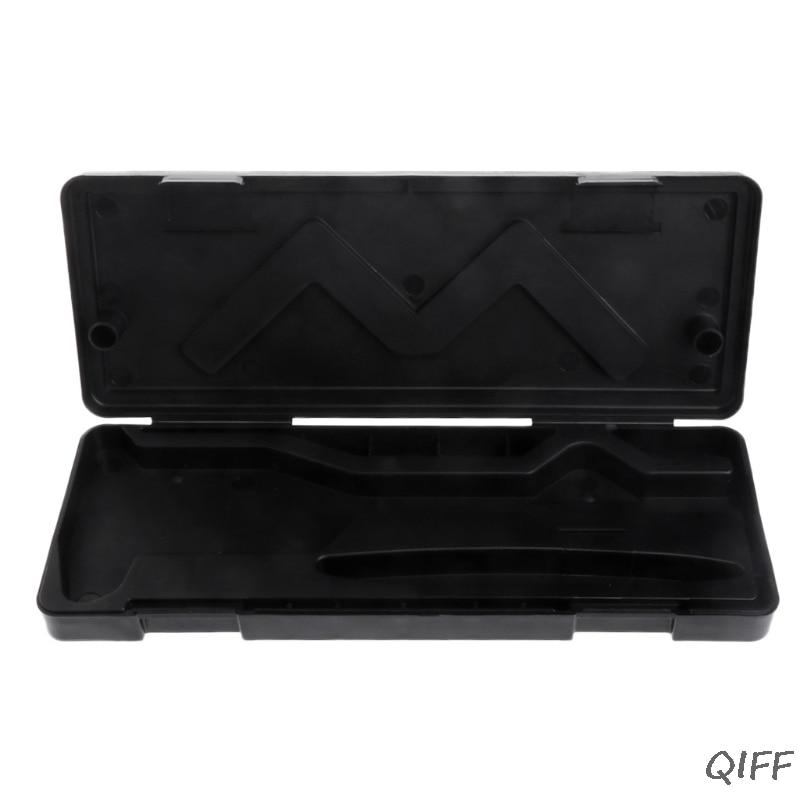 Caja de almacenamiento para herramienta de calibrador digital Vernier electr/ónica de acero inoxidable de 0-150 mm