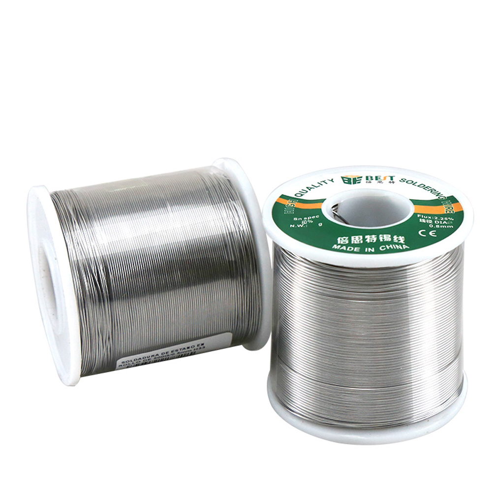 BEST 500g 0.3/0.4/0.5/0.6/0.8/1.0mm Rosin Core Solder Wire Electric Welding Tools For Circuit Board Phone Motherboard Repair
