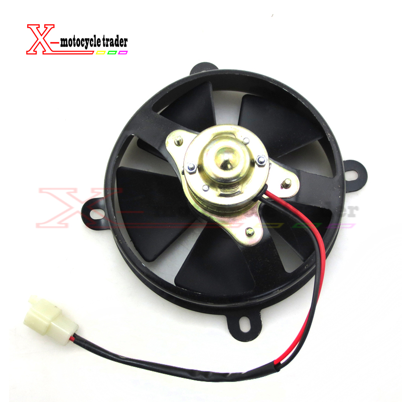 ATV fan dirt bike motorcycle fan zongshen loncin lifan foton oil cooler radiator cooling fan pit bike accessories