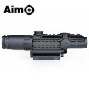 Image 3 - Aim O Airsoft Riflescope 1 3X Magnification Tactical Scope Aluminum Shooting Rifle Softair Telescope AO3033 Hunting Optics