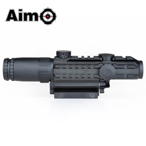 Image 3 - Lunette de visée Airsoft 1 3X grossissement portée tactique fusil de tir en aluminium télescope Softair AO3033 optique de chasse