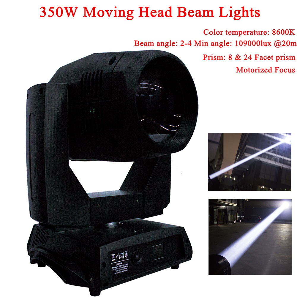 Free Shipping Professional Beam 17R 350W Moving Head Light Rotating Spot Gobos Music Disco DJ Party Bar Stage Dance Show Lights
