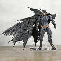 Justice League Revoltech Series NO.009 Batman PVC Action Figure DC Superhero Collectible Model Toy Gift for Kids