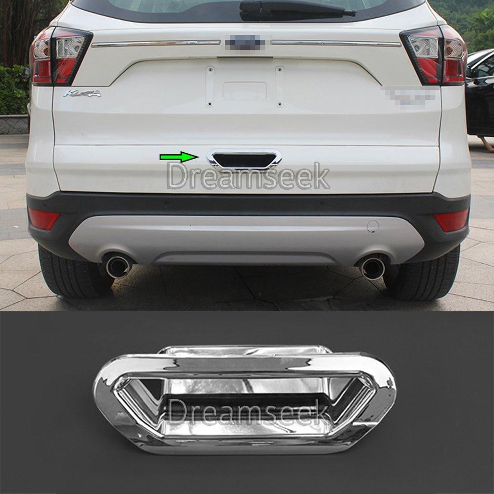 For 2013-2016 Ford Escape//Kuga 1pcs Chrome Tailgate Trunk Liftgate Cover NO LOGO