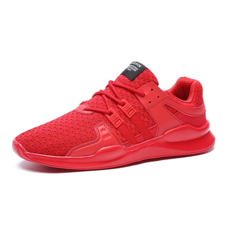 Perezosos Para rojo otoño gris Oscuro Transpirable Hombres Cordones Manera Zapatos 2017 46 Primavera El Llegada 39 Tamaño Negro Más La 2196 Malla blanco gris De Casual marfil Nueva gH7Fgq