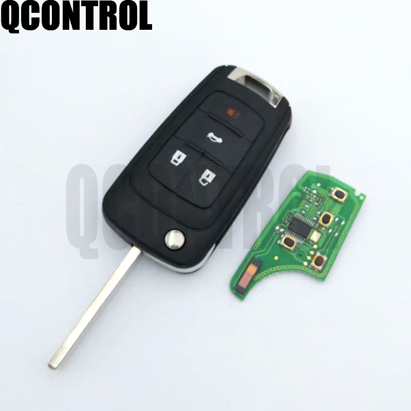 Image 4 - QCONTROL 2/3/4 Buttons Car Remote Key DIY for OPEL/VAUXHALL 433MHz for Astra J Corsa E Insignia Zafira C 2009 2016-in Car Key from Automobiles & Motorcycles