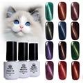 BORN PRETTY Magnetic Cat Eyes Gel 1 Bottle 5Ml Soak Off Led UV Gel Polish Manicure No Black Base Needed