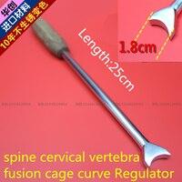 Медицинские Ортопедические Инструмент позвоночника шейный позвонок PEEK fusion клетке curve регулятор шеи полукруг регулировка угла инструмент А