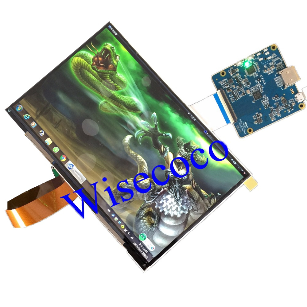 8 9 inch 2560 1600 WQXGA 2K LCD Module Screen Drive Board HDMI Display DIY Projector