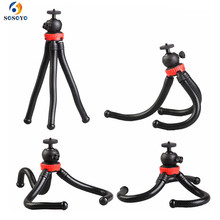 Flexible Octopus Large Tripod Stand  Multi functional Mini Camera Tripod For Gopro 9 8 7 6 5 DJI Osmo Action Camera Accessories