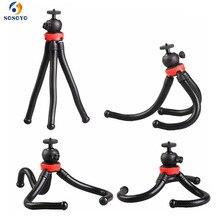 Pieuvre Flexible grand trépied multi fonctionnel Mini caméra trépied pour Gopro 9 8 7 6 5 DJI Osmo Action caméra accessoires