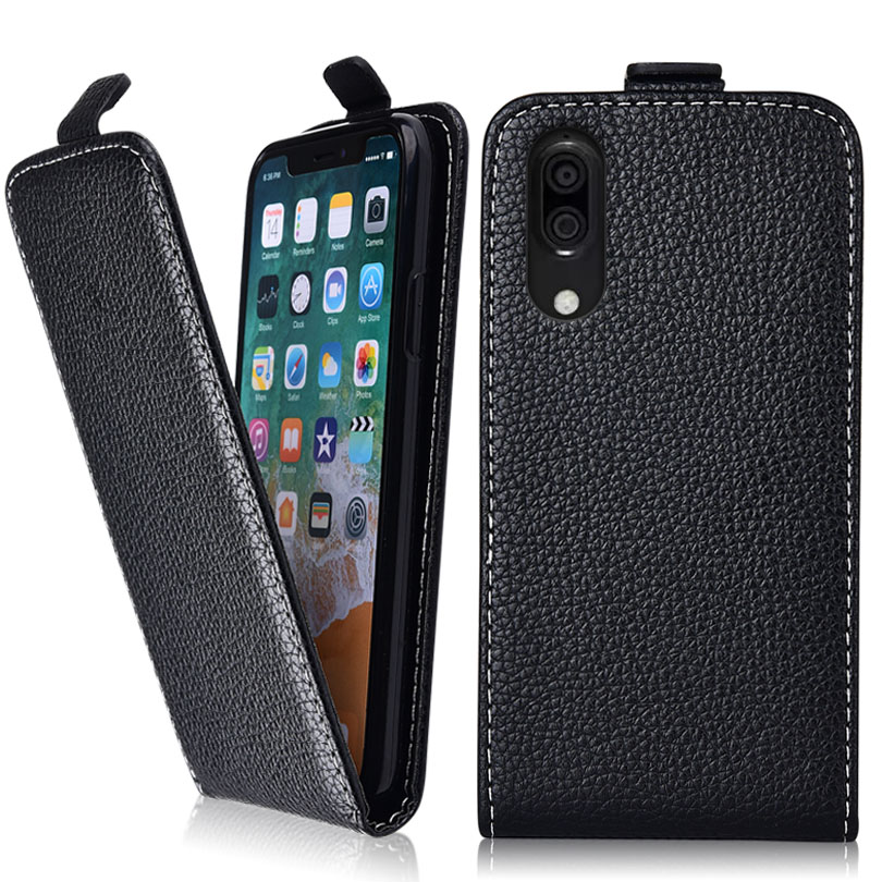 Vintage Flip Case For Sharp Aquos C10 Case 100% Special Cover PU  and Down Plain Cute phone bag