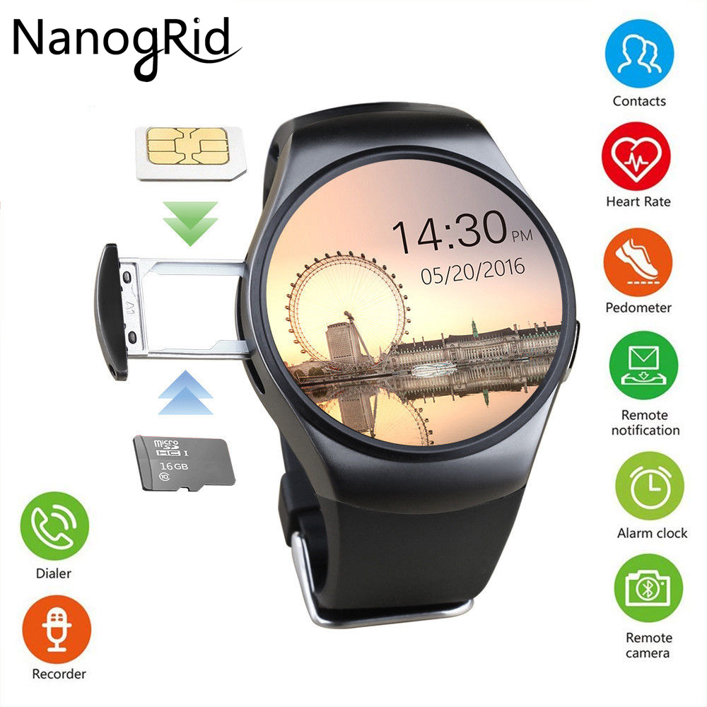 Bluetooth Smart Watch Heart Rate Monitor Sleep Monitoring Smart Bracelet Support SIM TF/SD Card for IOS Android Multi Languages bluetooth smart watch heart rate monitor sleep monitoring smart bracelet support sim tf sd card for ios android multi languages