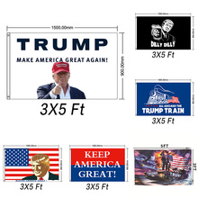 2020 New Trump Donald Election Flags 5x3 Feet Keep America Great Flag Banner