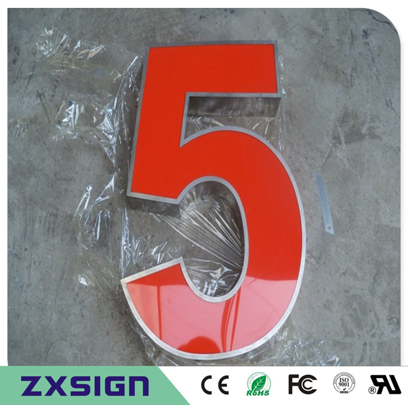 Factory Outlet Outdoor Acrylic LED House Number
