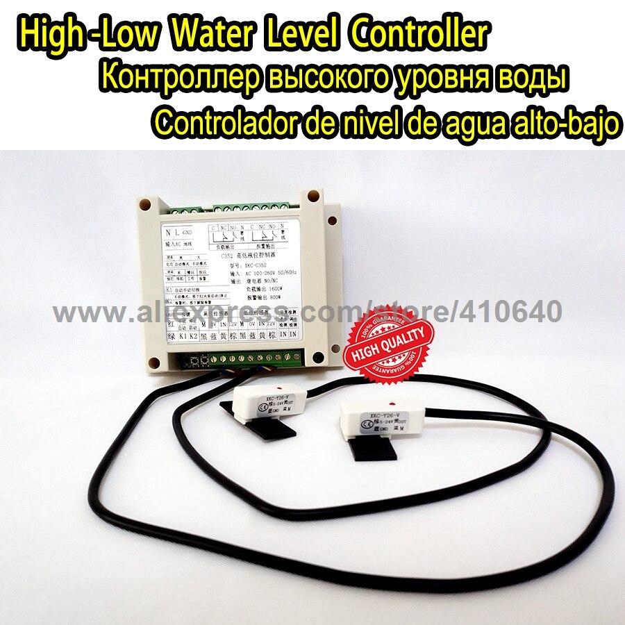 Automatique Contrôleur De Commutateur De Niveau Pour Réservoir D'eau/Non-contacter Pompe À Eau Niveau Contrôleur de Surveillance
