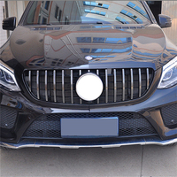 For Mercedes Benz ML Class W166 AMG GT R grille Front Grille FOR ML class ML250 GLE400 GLE450 grille front bumper w166 grill