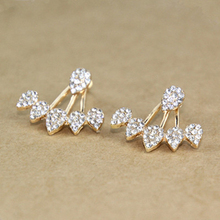 Korean Floral Stud Earrings