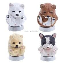 White Funny Cartoon Cute Animal Figures Doll Kids Toys Christmas Gift Decore Home Car -B116
