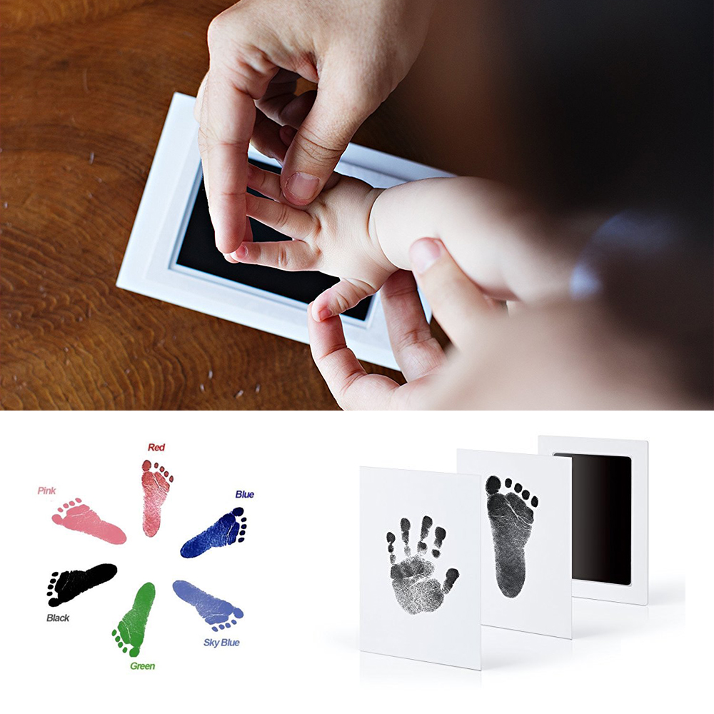 Baby Care Non-Toxic Special Handprint & Footprint Ink Pad Baby Items Souvenir Hand & Footprint Makers Learning & Education Toy
