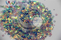 ZTQ-16 Amazing Glitter Sequins ornament,accessory  for nail   Art  or other DIY decoration 1pack=50g