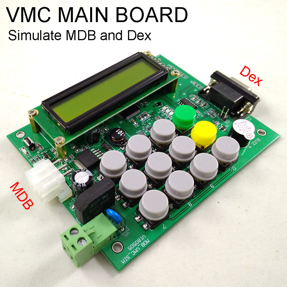 Distributeur automatique VMC simulateur MDB interface protocal interface DexDistributeur automatique VMC simulateur MDB interface protocal interface Dex
