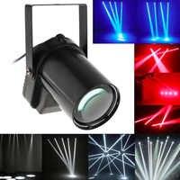 5W Bianco Rosso Blu LED Fascio Fase del Riflettore Luce Palla Rotante Pinspot Lampada per la Discoteca DEL DJ Bar KTV Del Partito effetto di fase di Illuminazione