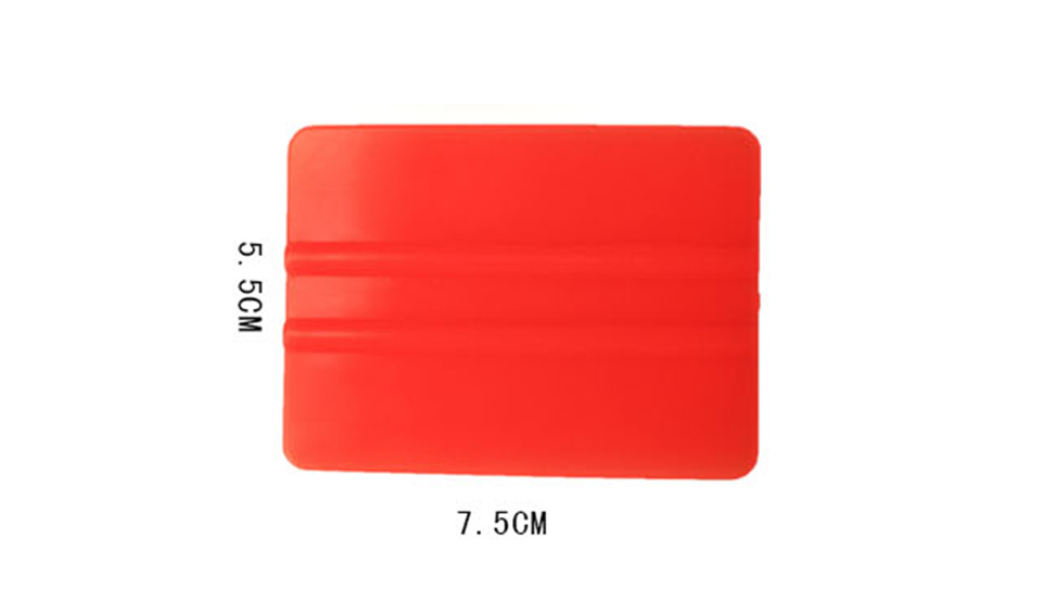Image 4 - New Arrive Vinyl Applicators 7.5*5.5cm Car Tint Tools Bondo Cards Orange Mini Vinyl Squeegee C 72 Whole Sale-in Car Stickers from Automobiles & Motorcycles