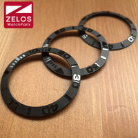 40.2mm/38.6mm/38mm new high quality ceramic RLX watch bezel insert for Rlx Yacht Master automatic watch 116655 replacement