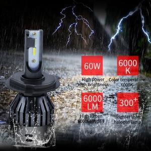 Image 5 - Ampoule led 6000k h4 9005 h7 12v 9006 9004 hb3 hb4 D2 9007 H13 H15