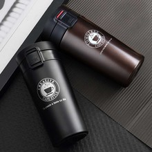 Transhome Drinkware Stainless Steel Thermos 380ml Coffee Tea Insulation Keep Cold Bottle Stainless Steel Water Bottle Thermos