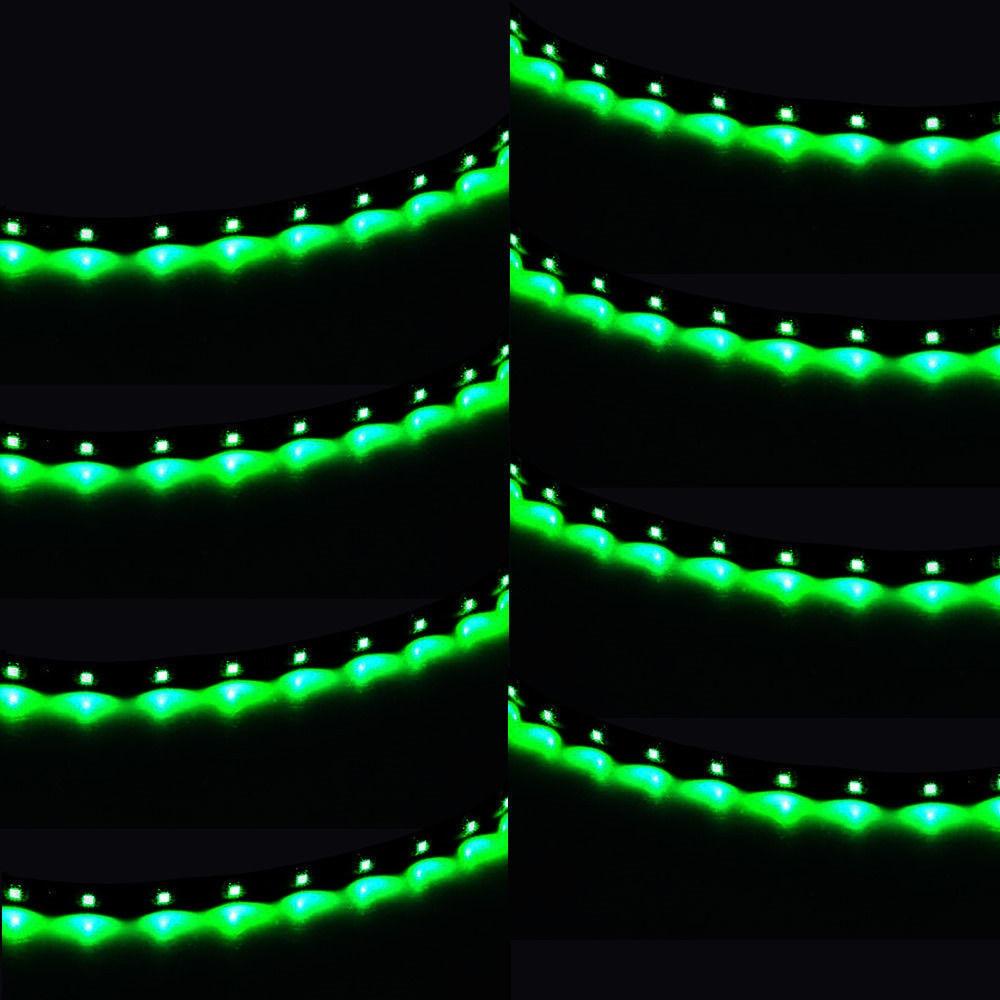 EE suporte 8 Pcs 15 LED 12 V 30 CM Luzes Grill Flexível À Prova D - Faróis do carro - Foto 6