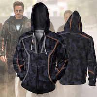 Avengers 3 Infinity War Iron Man Tony Stark sweat à capuche pour hommes 3D imprimé Hoodies Streetwear décontracté Cospaly enfants sweat à capuche garçons