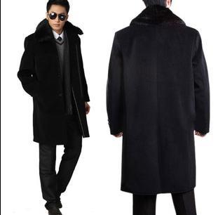 Popular Mens Fur Collar Overcoat-Buy Cheap Mens Fur Collar
