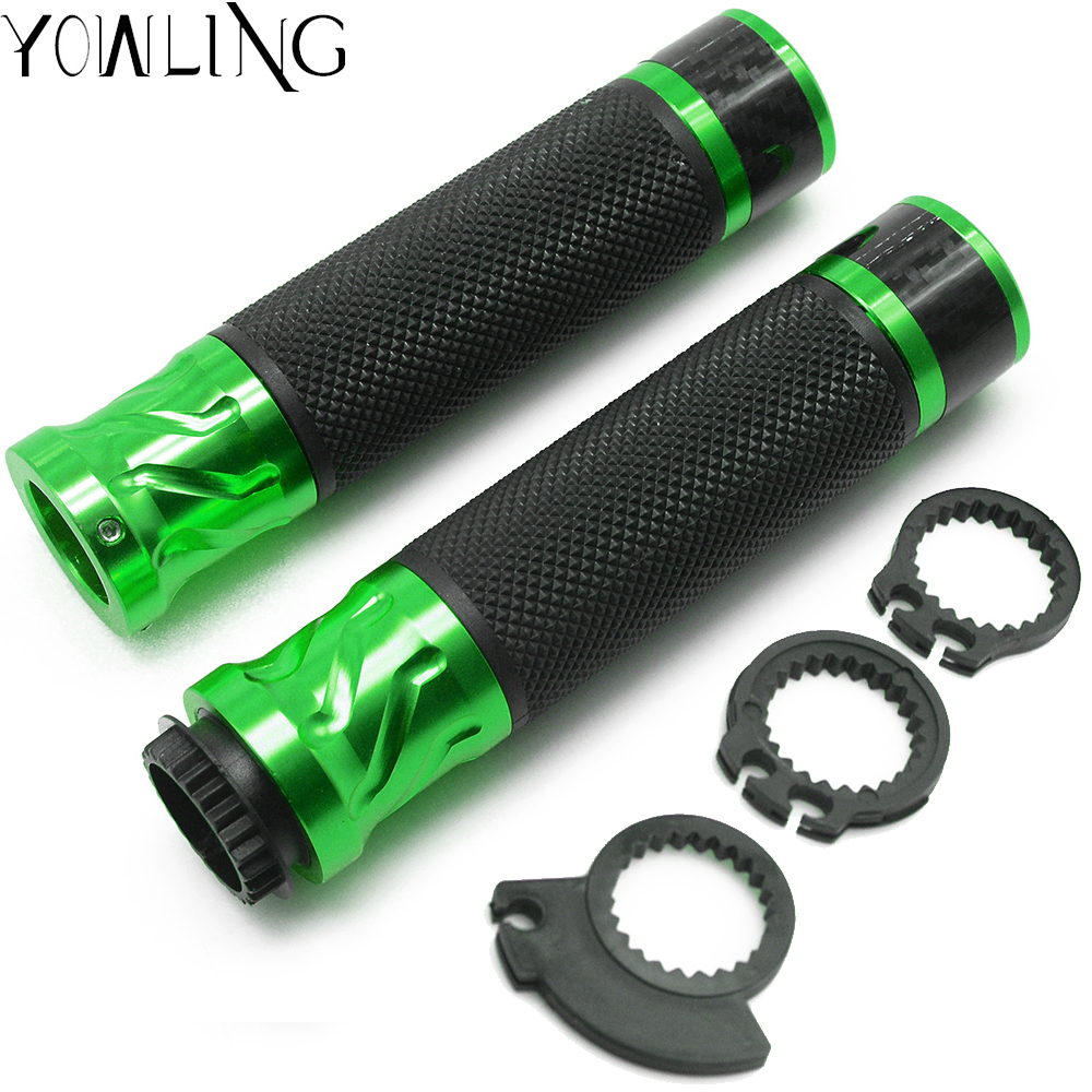 1 pair mototrcycle Bicycle Handlebar Cover Grips handle bar end for kawasaki z750 z800 z1000 er6n er6f ninja 650r zx6r zx9r zx12