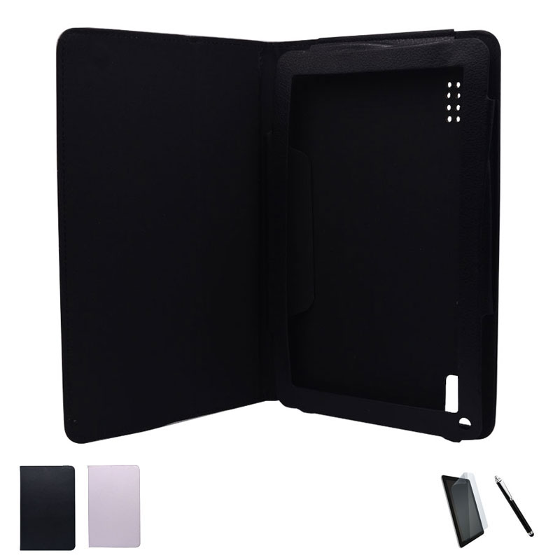 PU Leather Case Stand Cover For Irbis TW33/Irbis TW34/Irbis TW35 8.9 inch Tablet + Stylus + Screen Protector 2 Colors irbis tz731