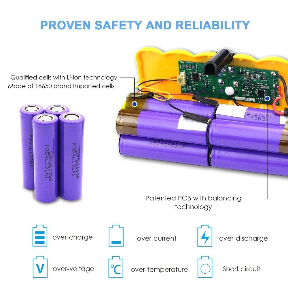 Sparkole 5.2Ah 14,4 V Батарея литий-ионный Батарея для irobot Roomba 500 600 700 800 Series с импортированными ячейками 510 530 620 650 770 780 880