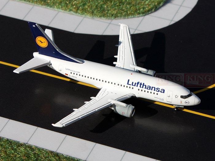 GeminiJets GJDLH1327* B737-500 D-ABIR 1:400 Lufthansa commercial jetliners plane model hobby geminijets gjaaa814 a320 vh hyy 1 400 ansett australia commercial jetliners plane model hobby