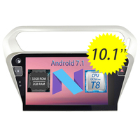 WANUSUAL 10 1inch Quad Core Android 6 0 Car DVD GPS Navigation For Peugeot 301 2014