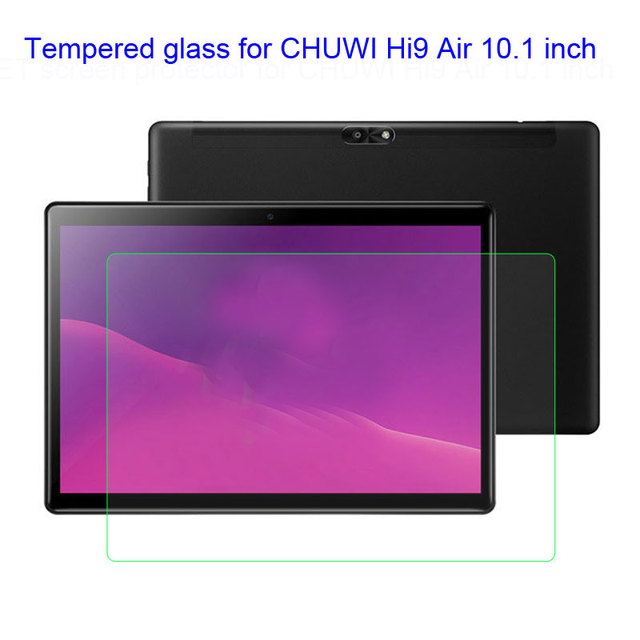 Myslc Tempred glass para CHUWI Hi9 aire Android 8,0 MT6797 X20 Deca Core 4 GB RAM 64 GB ROM 10,1 pulgadas tabletas