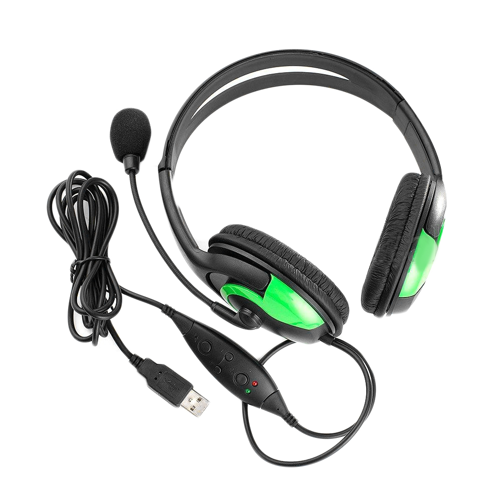 Wired Gaming Headset Auricular Micrófono Para PS3 PC de Chat