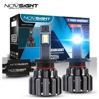 NOVSIGHT H7 LED Car Lamp Headlight H11 9005 HB3 9006 HB4 Light Bulbs For Auto 7200LM 90W 6000K White 12V 24V Headlamp 2Pcs