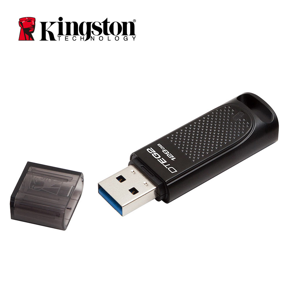 Original Kingston USB Flash Drive 128gb Pendrive cle usb key Metal DTEG2 USB 3.1 Memory Stick Car Driver U Disk Pen Drive eaget u66 16gb usb 3 0 usb flash drive u disk memory stick pen drive